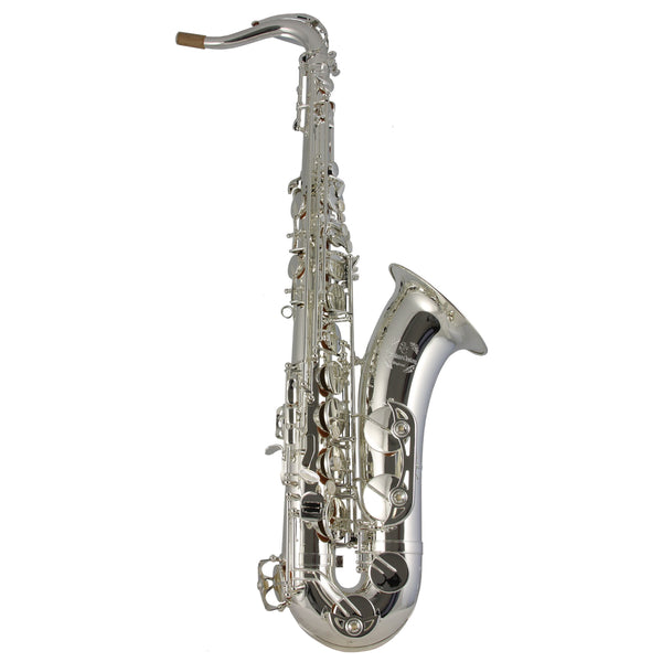 Trevor James - Signature Custom Tenor Saxophones-Saxophone-Trevor James-Silver Plated-Music Elements
