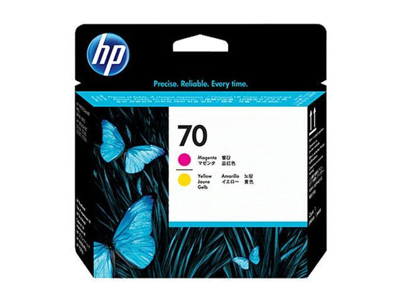 HP 70 C9406A Original Magenta & Yellow Printhead