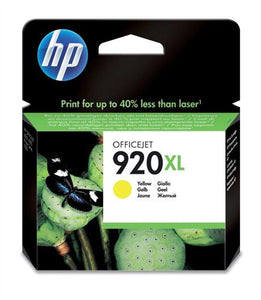 HP 920XL CD974A Original Yellow High Yield Ink Cartridge