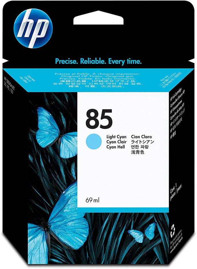 HP 85 C9428A Original 69ml Light Cyan DesignJet Ink Cartridge