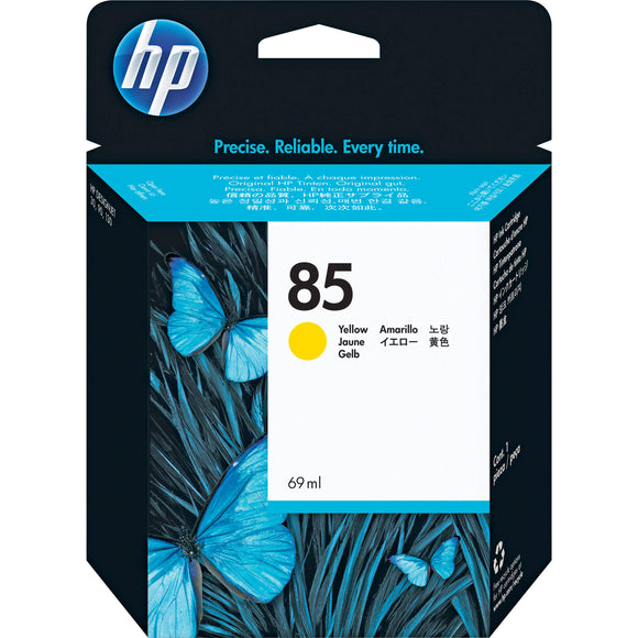 HP 85 C9427A Original 69ml Yellow DesignJet Ink Cartridge