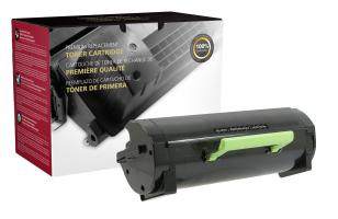 51B1X00 Premium Remanufactured High Yield Black Toner Cartridge for Lexmark MS517/ MS617/ MX517/ MX617