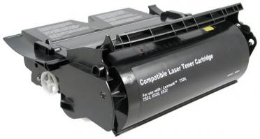 12A6835 Premium Remanufactured High Yield Black Toner Cartridge for Lexmark T520 / T522/ X520