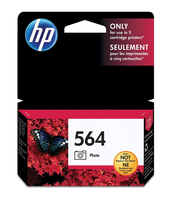 HP 564 CB317W Original Photo Black Ink Cartridge