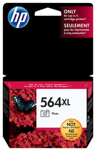 HP 564XL CB322W Original High Yield Photo Black Ink Cartridge