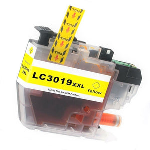 LC3019XXLY Compatible extra high yield yellow inkjet cartridge for Brother