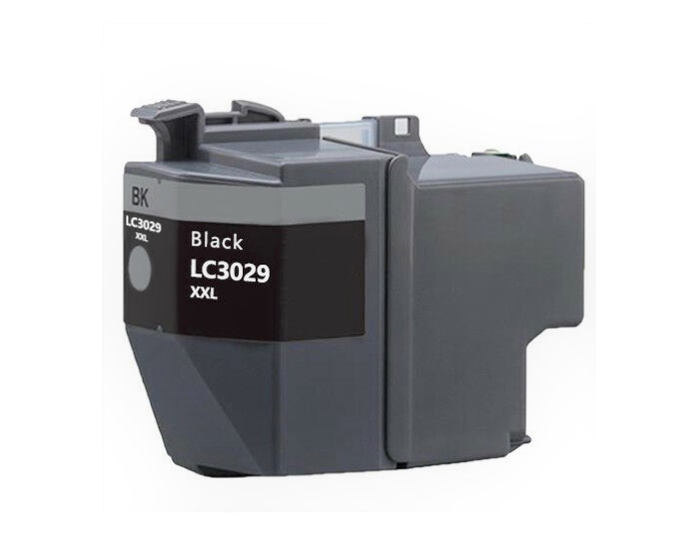 LC3029XXLBK Compatible extra high yield black inkjet cartridge for Brother