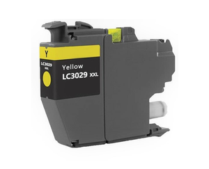 LC3029XXLY Compatible extra high yield yellow inkjet cartridge for Brother