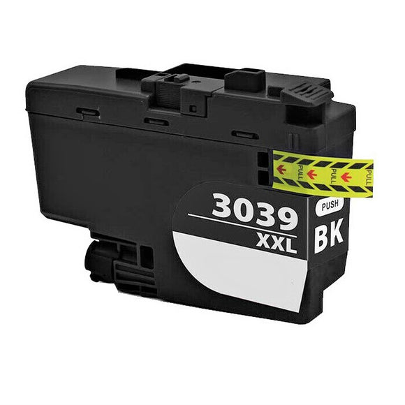 LC3039BK XXL Compatible Super high yield black inkjet cartridge for Brother