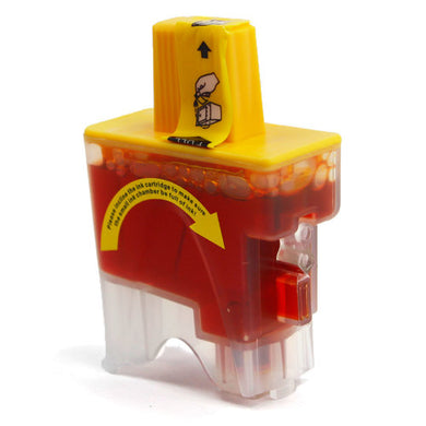 LC41Y Compatible yellow inkjet cartridge for Brother