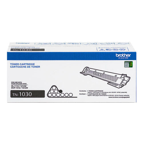 TN1030 Brother Original (OEM) Black Laser Toner Cartridge