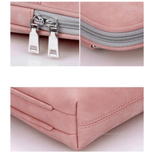 "Load image into Gallery viewer, PU Leather Waterproof Scratch-resistant Laptop Briefcase 13"" 14"" 15"" MacBook / Notebook Shoulder Bag"