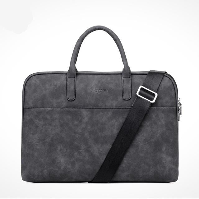 PU Leather Waterproof Scratch-resistant Laptop Briefcase 13