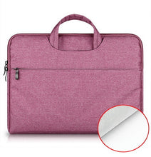 "Load image into Gallery viewer, YRSKV cotton fabric laptop notebook briefcase for Macbook Air,Pro,Retina,11.6""12""13.3""15.4 inch and Other laptop 14""15.6"""
