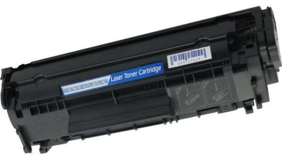 Q2612A Compatible Black Toner Cartridge for HP