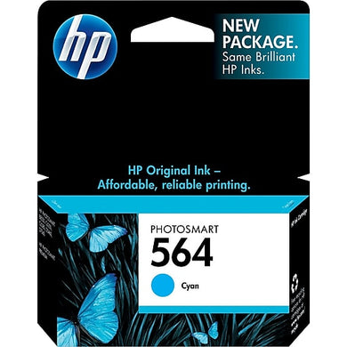 HP 564 CB318W Original Cyan Ink Cartridge