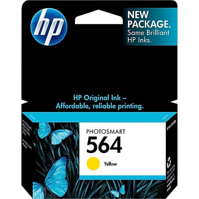 HP 564 CB320W Original Yellow Ink Cartridge