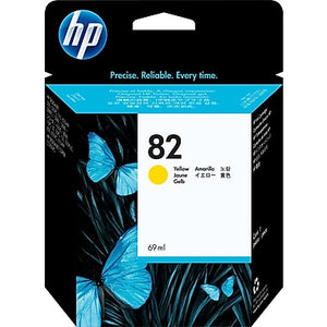 HP 82 C4913A Original 69ml Yellow DesignJet Ink Cartridge