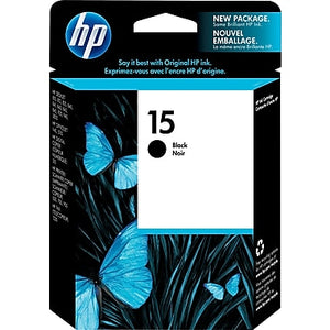 HP 15 C6615D Original Black Ink Cartridge