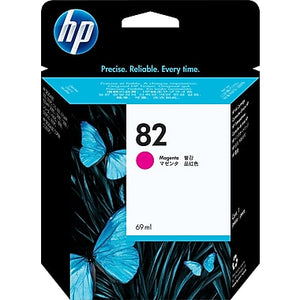 HP 82 C4912A Original 69ml Magenta DesignJet Ink Cartridge