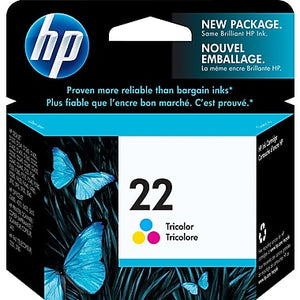 HP 22 C9352A Original Tri-color Ink Cartidge