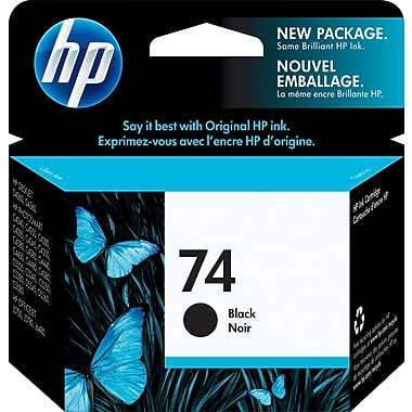HP 74 CB335W Original Black Ink Cartridge