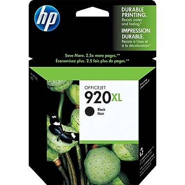 HP 920XL CD975A Original Black High Yield Ink Cartridge