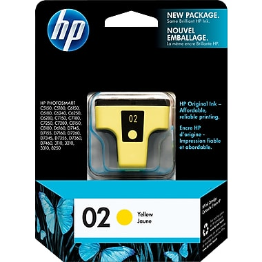 HP 02 C8773W Original Yellow Ink Cartridge