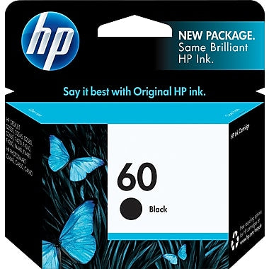 HP 60 CC640W Original Black Ink Cartridge