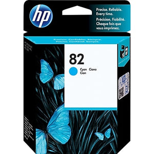 HP 82 C4911A Original 69ml Cyan DesignJet Ink Cartridge