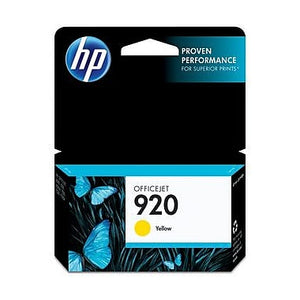 HP 920 CH636A Original Yellow Ink Cartridge
