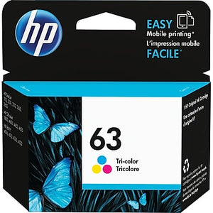 HP 63 F6U61A Original Tri-color Ink Cartidge