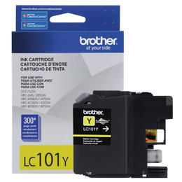 LC101YS Brother Original (OEM) Yellow Inkjet Cartridge