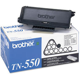 TN550 Brother Original (OEM) Black Laser Toner Cartridge