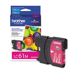 LC61MS Brother Original (OEM) Magenta Inkjet Cartridge