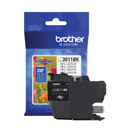 LC3011BKS Brother Original (OEM) Black Inkjet Cartridge