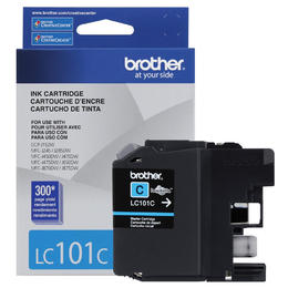 LC101CS Brother Original (OEM) Cyan Inkjet Cartridge