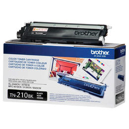 TN210BK Brother Original (OEM) Black Laser Toner Cartridge