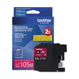 LC105MS Brother Original (OEM) Magenta Super High Yield (XXL) inkjet cartridge