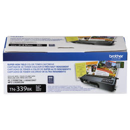 TN339BK Brother Original (OEM) Black Super High Yield Toner Cartridge