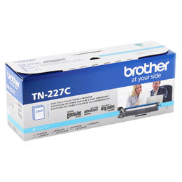 TN227C Brother Original (OEM) Cyan High Yield Toner Cartridge