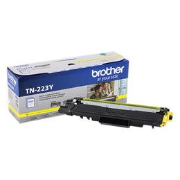 TN223Y Brother Original (OEM) Yellow Toner Cartridge