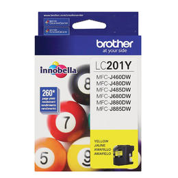 LC201YS Brother Original (OEM) Yellow Inkjet Cartridge