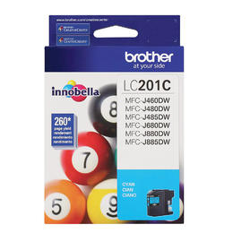 LC201CS Brother Original (OEM) Cyan Inkjet Cartridge