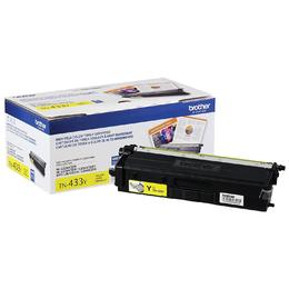 TN433Y Brother Original (OEM) Yellow High Yield Toner Cartridge
