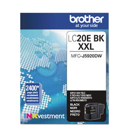 LC20eBKS Brother Original (OEM) Black Super High Yield (XXL) inkjet cartridge