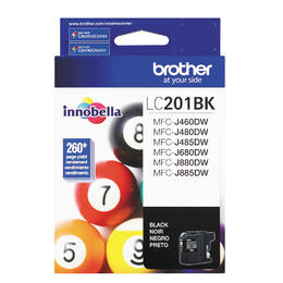 LC201BKS Brother Original (OEM) Black Inkjet Cartridge