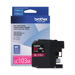LC103MS Brother Original (OEM) Magenta High Yield (XL) Inkjet Cartridge