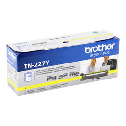TN227Y Brother Original (OEM) Yellow High Yield Toner Cartridge