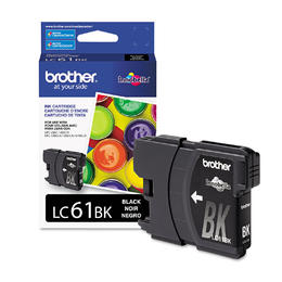 LC61BKS Brother Original (OEM) Black Inkjet Cartridge